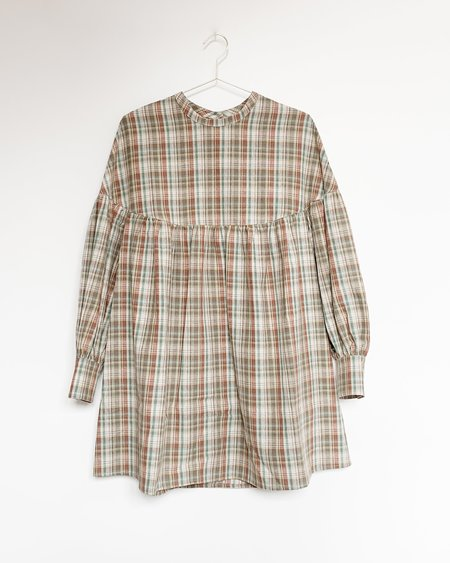 Town Clothes Salima Dress - Prairie Plaid