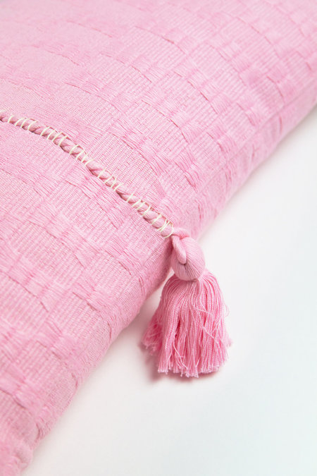 Archive New York Antigua Pillow - Baby Pink Solid