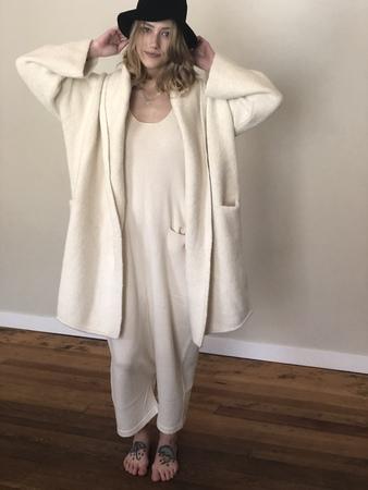 Lauren Manoogian Capote coat - white