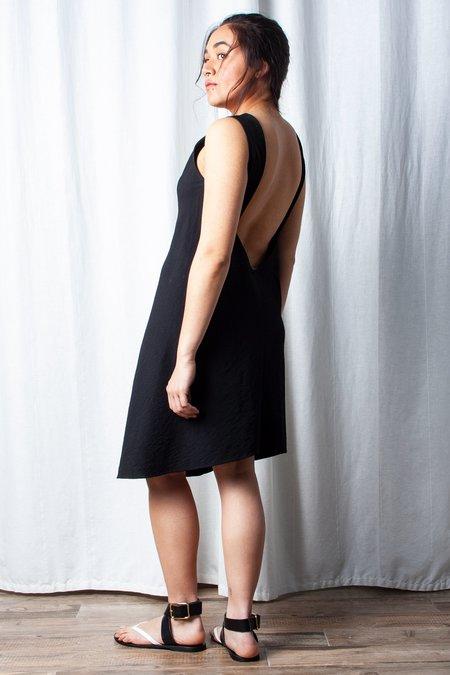 KAAREM Beryl Low Back Dress - Black