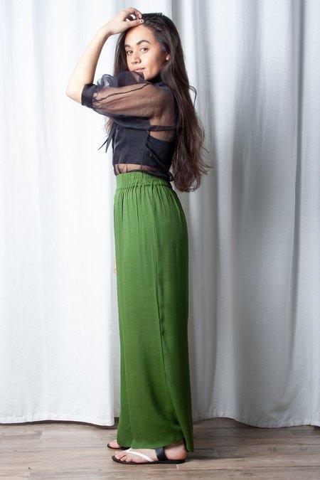 Hannah Kristina Metz Petite Wessex Pant - Moss