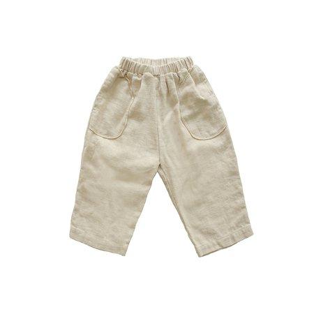 KIDS Tambere Round Pocket Trouser - Beige