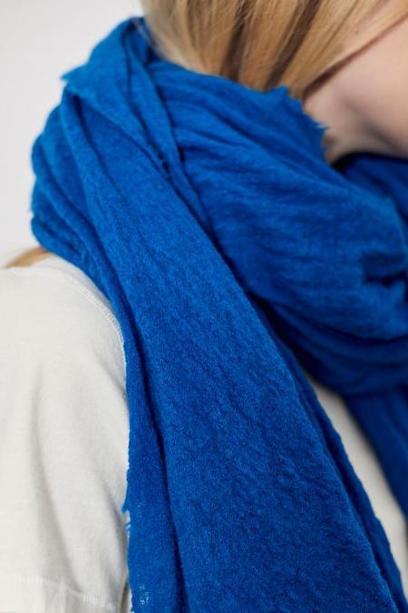 Scarf Shop Wool Cloud Scarf - Bright Blue
