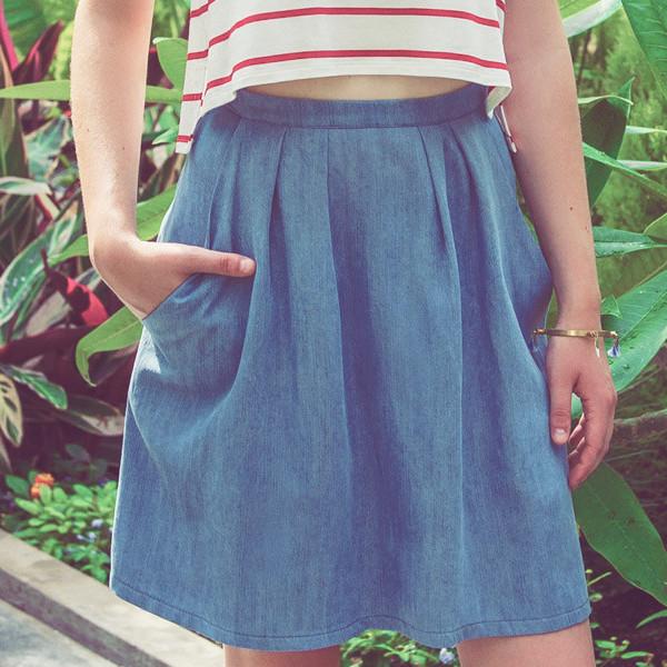 MEEMOZA STONE Skirt