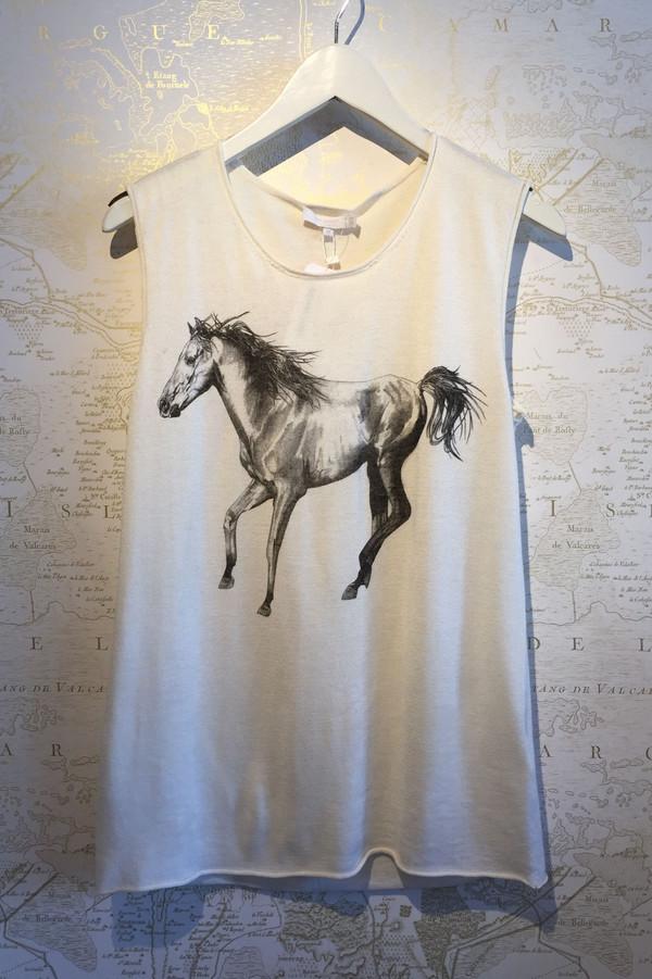 Tess GIberson Running horse shell