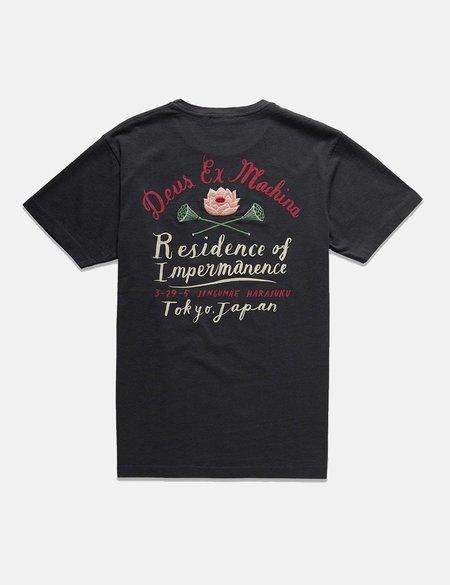 Deus Ex Machina Bjorn Tokyo T-shirt - Washed Black