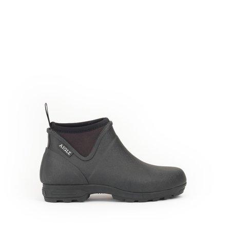 Aigle Landfor Rubber Gardening Boot - Black