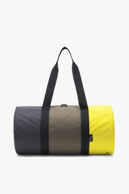 HERSCHEL SUPPLY CO Packable Duffle - Sulfur/Olive/Black