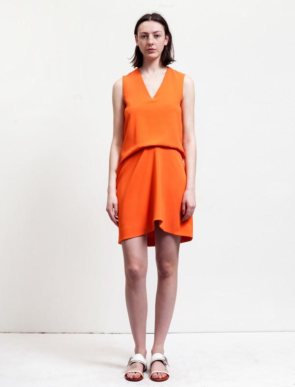 Acne Studios Challa Stretch Crepe Orange