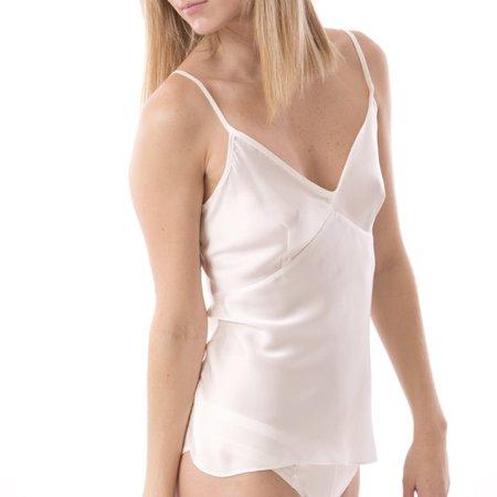Kent Krush Organic Silk Camisole - Raw White