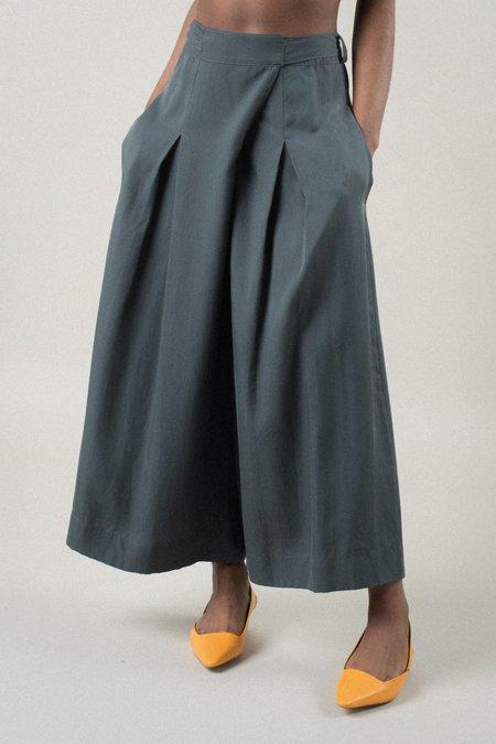 REIFhaus Lani Wrap Pant - Charcoal