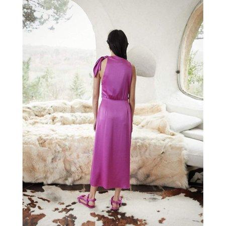 Nanushka Kalila asymmetric scarf dress