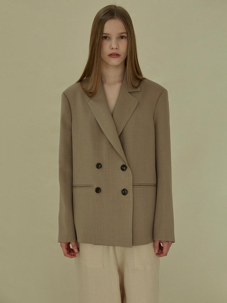 More Or Less Double Jacket - Cream