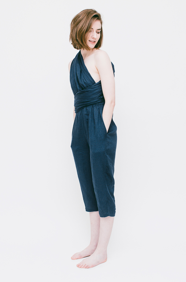 Lauren Winter Sash Jumpsuit