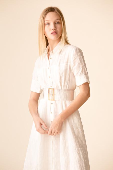 Mara Hoffman Lorelei Dress - WHITE