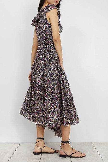 Apiece Apart Nueva Costa Maxi Dress - mini-floral print