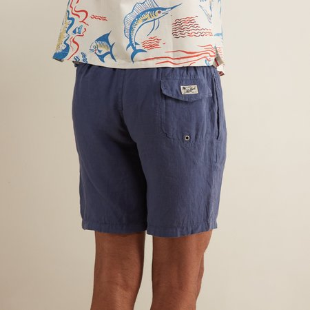 Hartford Long Swim Trunks - Indigo