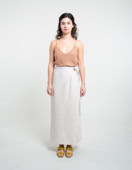 Ozma Venice Wrap Skirt - Raw
