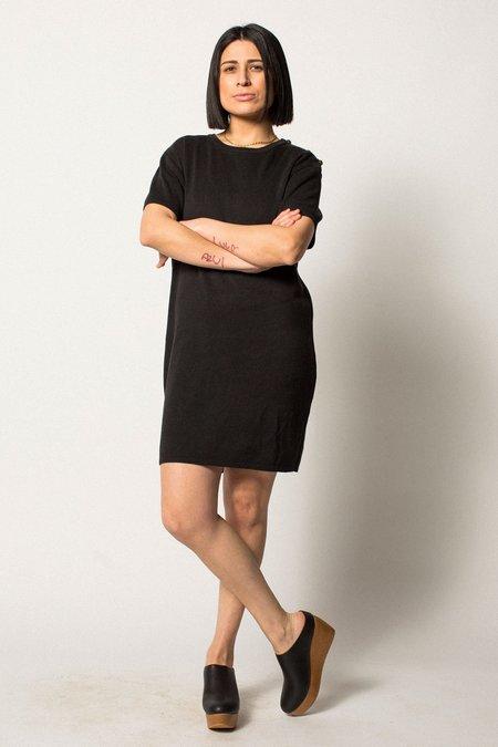 VINTAGE Preservation Knit Dress - BLACK