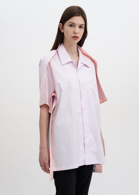 Y/project Bowling Shirt - Light Pink