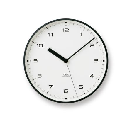 Lemnos Urban Clock - Black