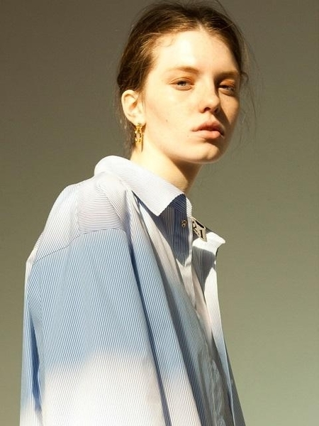 ISSUE NUMBER 2.1 Shirt - Blue Stripe