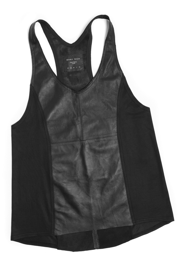 Mary Rich Leather Tank