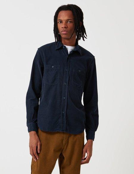 Bleu De Paname 2 Pocket Shirt - Navy Blue