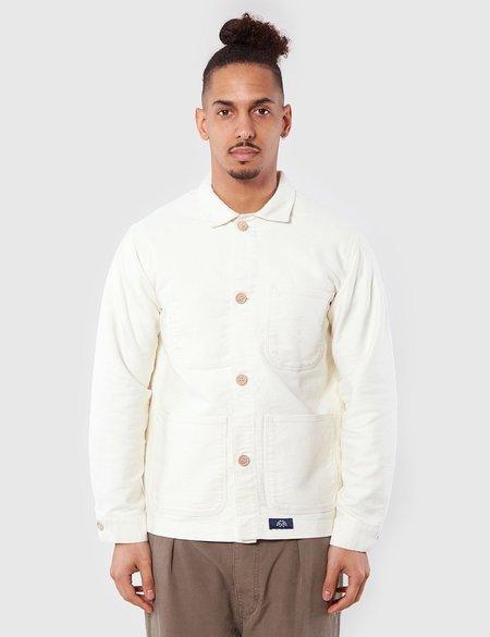 Bleu De Paname Veste De Comptoir Jacket - White