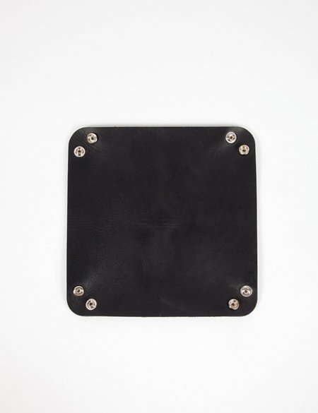Buddy Accessories Leather Tray - Black