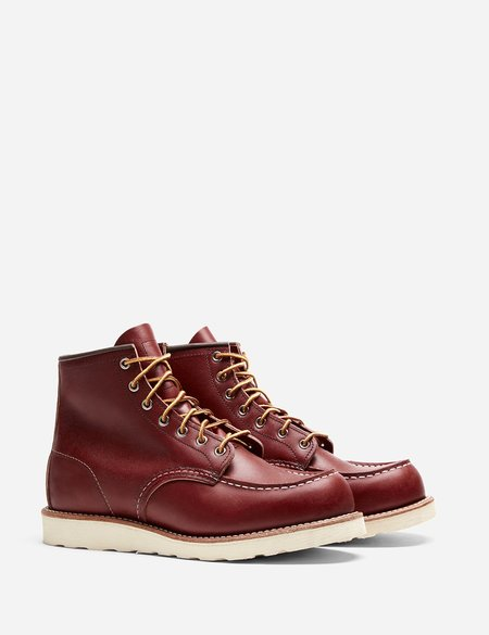 """Red Wing Shoes Leather 6"""" Moc Toe Boot 8131 - Oro Russet Portage"""