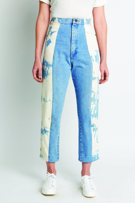 CIE Denim Maxine Jean - Blue/Acid Wash