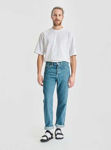 I AND ME Selvedge Slim Leg Jeans - Vintage Wash