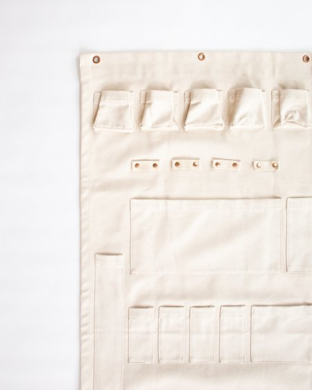 The Floral Society Canvas Wall Organizer