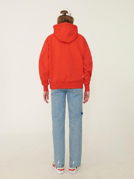 Ader Error Ade Hoodie - Red