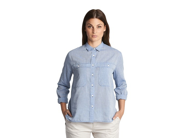 Woolrich Cropped Rebel Ryan Shirt