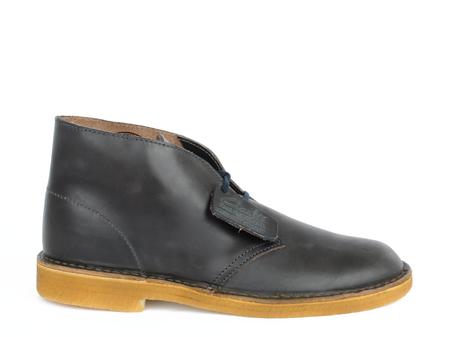 Men's Clarks Desert Boot Midnight Leather
