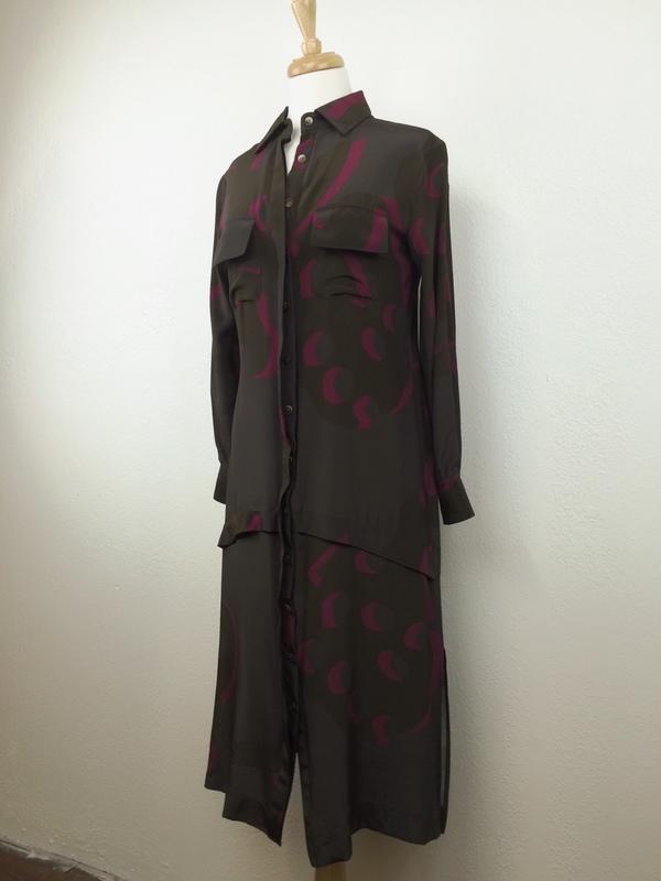 Feral Childe Poms Long Shirt Dress