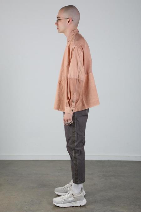 Robert Geller Karol Shirt - Apricot