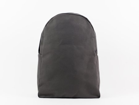 Black Pine Workshop Simple Canvas Back Pack - Charcoal