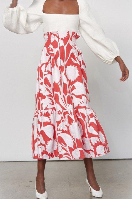 Mara Hoffman Roshini Skirt - Meadow Applique