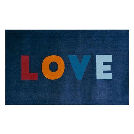 Oeuf NYC Oeuf Love Rug - Navy Blue
