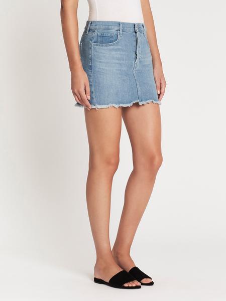 J Brand Bonny Mid Rise Mini Skirt - Andromeda