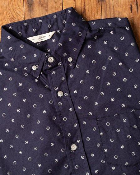3sixteen SS BD Shirt - Navy Floral