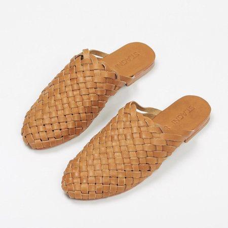 St. Agni Bunto Woven Loafer - Almond