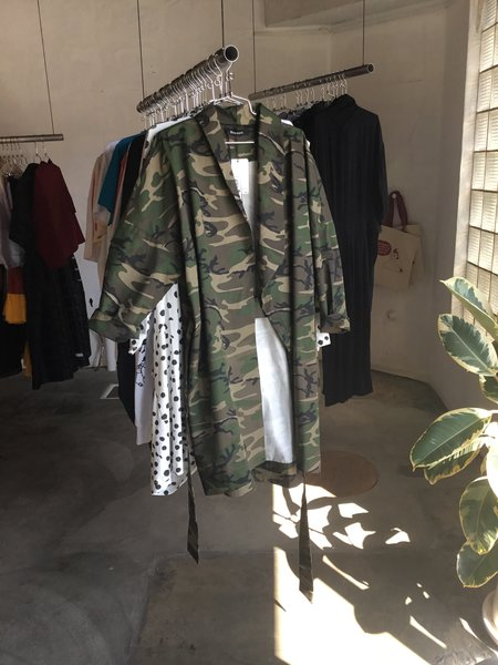 Oneself Live Free Duster - Camo