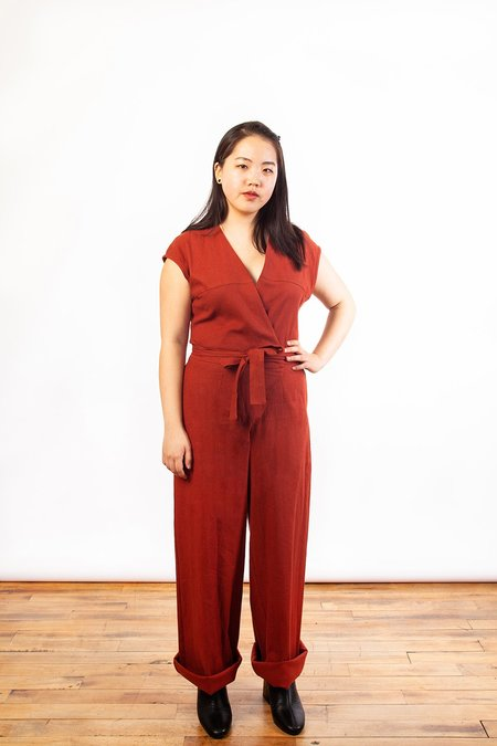 Dagg & Stacey Cicely Jumpsuit - Cayenne