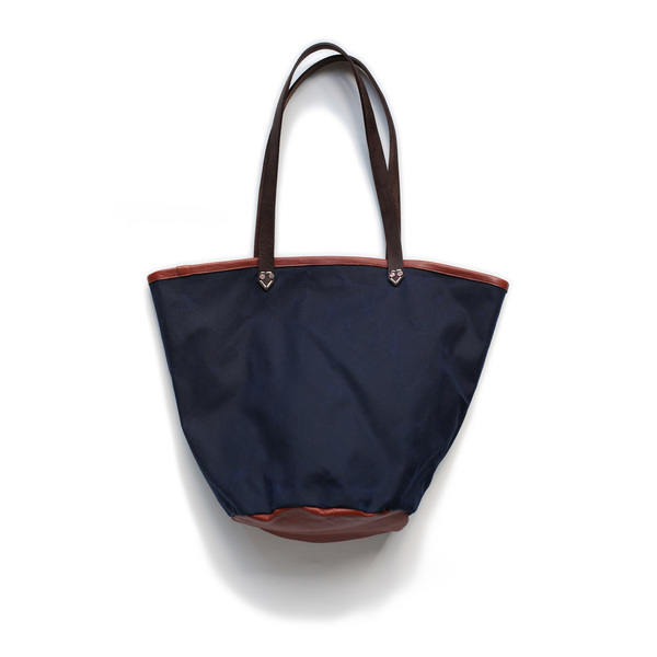AW by Andrea Wong BUCKET BAG | INDIGO + MAHOGANY
