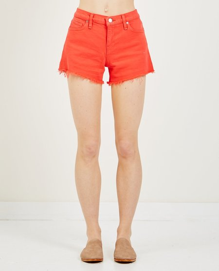 Hudson GEMMA MID-RISE CUT OFF SHORT - CHERRY