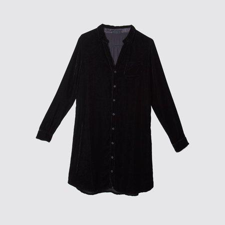 CP SHADES Quinn Velvet Dress - Black